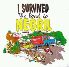 Back when the road to Negril from Montego Bay was an adventure! Now its fast! Negril Jamaica, Montego Bay, Jamaican Music, Gps Map, Wicked Good, Jamaica Travel, Beautiful Islands, Hibiscus, Places Ive Been