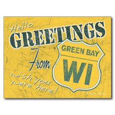 =>Sale on          Greetings from Green Bay Wisconsin Postcard           Greetings from Green Bay Wisconsin Postcard in each seller & make purchase online for cheap. Choose the best price and best promotion as you thing Secure Checkout you can trust Buy bestThis Deals          Greetings fro...Cleck Hot Deals >>> http://www.zazzle.com/greetings_from_green_bay_wisconsin_postcard-239652626648575584?rf=238627982471231924&zbar=1&tc=terrest