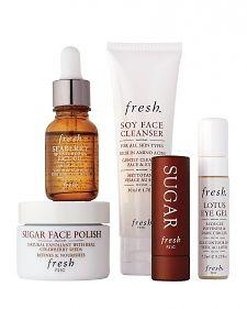 I definitely endorse the lip treatment, face polish, and body scrub. Excellent!