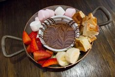 Chocolate Fondue - Mooberry Dessert & Breakfast Bar, Neutral Bay