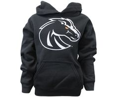 Boise State Youth Hoodie - Yswh Secondary Logo Custom   Boise State Bronco Shop
