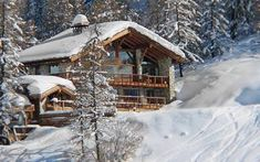 Luxury Ski Chalet, Chalet Le Chardon, Val d'Isere, France, France - Firefly Collection Ski Chalet, Isere France, Luxury Ski Holidays, Val D'isère, Log Cabin Homes, Log Cabins, Mountain Homes, Mountain Cabins, French Alps