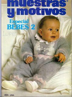 Punto bebés 2 - 猫咪窝(4) - Álbumes web de Picasa Knitting Books, Crochet Books, Knitting For Kids, Baby Knitting Patterns, Baby Patterns, Knitting Magazine, Crochet Magazine, Crochet Baby, Knit Crochet
