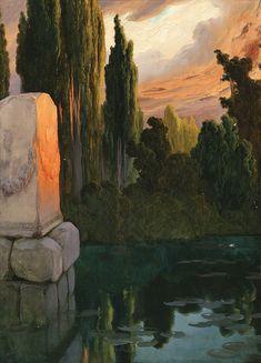 Enrique Serra y Auque In the Pontine Marshes Spanish Painters, Spanish Artists, Landscape Art, Landscape Paintings, Landscapes, Traditional Paintings, All Art, Impressionism, Art Inspo