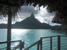 bora bora: the view from our room