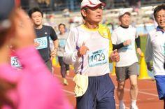 川崎国際多摩川マラソン2013、晴れ 11月17日