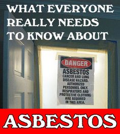 if your home was built prior to 2003.. you may have ASBESTOS ......  YOU NEED TO READ THIS.... Asbestos Removal - Everything You Wanted to Know and More - Pretty Handy Girl