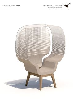 Fauteuil Murmures by Sismo Design.