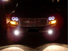 customized 2006 yukon denali | Custom Denali Headlights, 1999 2000 2001 2002 2003 2004 2005 2006 GMC ...