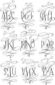 Barocca Monogram Font