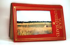 Book picture frame.