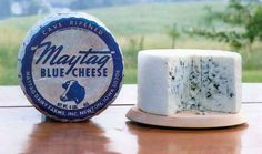 Maytag Blue Cheese made in Iowa