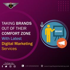 𝗧𝗔𝗞𝗜𝗡𝗚 𝗕𝗥𝗔𝗡𝗗𝗦 𝗢𝗨𝗧 𝗢𝗙 𝗧𝗛𝗘𝗜𝗥 𝗖𝗢𝗠𝗙𝗢𝗥𝗧 𝗭𝗢𝗡𝗘 With Latest Digital Marketing Services and Channels.  Our Digital Marketing Experts always push the boundaries to get brands on the map. Do you think to grow your business? Consult Now: +919821918208 Visit: www.kingofdigitalmarketing.com #kingofdigitalmarketing #digitalmarketing #ppcservices #digitalmarketingindelhi #digitalmarketingagencyindelhi #bestdigitalmarketingservices #seoexperts #seopackage  #gauravdubey Digital Marketing Services, Seo Services, Seo Packages, Growing Your Business, Delhi India, Comfort Zone, Map, Goa India, Location Map