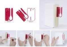 pen holder by Power Design Inc. (Japan) - 2013 G-mark Good Design Award