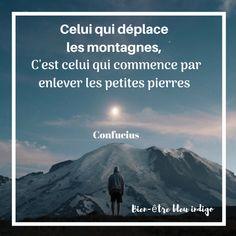 citation de Confucius les montages Confucius Citation, Best Funny Quotes Ever, Keep Looking Up, Montages, Secret Life, Meditation, French, Nature, Travel