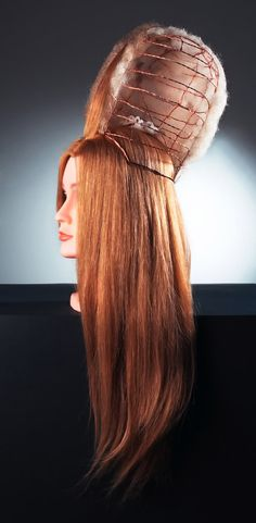 How to make an extravagant end-of-XVIIIth-century hair !