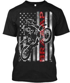 47fc963dfb BRAAAP! Motocross Flag Limited Edition. Dirt Bike ShirtsMotocross T ...