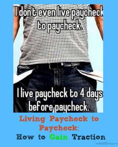 Living Paycheck to Paycheck? Must read this-- www.amittenfullof...  living paycheck to paycheck, how to stop living paycheck to paycheck