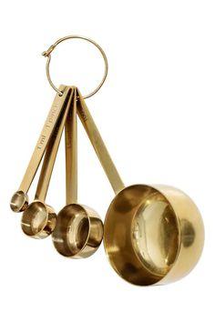 4-osainen mittasetti metallia - Kullanvärinen - Home All   H&M FI