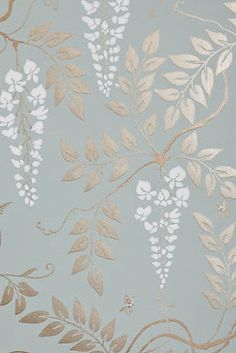 Wallpaper Mural Tricks: How to Choose and Install Fern Wallpaper, Dining Room Wallpaper, Luxury Wallpaper, Unique Wallpaper, Bathroom Wallpaper, Home Wallpaper, Designer Wallpaper, Silver Wallpaper, Wallpaper Patterns