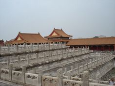 Forbidden City ( Chinese imperial palace from the Ming Dynasty to the end of the Qing Dynasty) & Temple of Heaven ( once visited by the Empe. Temple Of Heaven, Imperial Palace, Paris Skyline, Louvre, City, Building, Travel, Viajes, Buildings