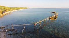 La #Costa dei #Trabocchi #ripresa da un #Drone, #Vasto, #Abruzzo  #puntaderci #sun #sea #beach #nature #chieti #summer #adriatic #italia #colorful #puntapenna #fashion #vivoabruzzo #amazing #relax #sole #mycity #pamoramicview #wonderful #mareadriatico #paradise #moments #travel #life #riservanaturale #girasoli #campodigirasoli #summer #estete #picture #mothernature #mylife #naturereserve #landscape #immobiliarecaserio #exclusiveproperty