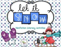 These are a set of activities to use with your students after reading a non-fiction book about snow or as a review on the topic.  This is whats included:1.  Set of 24 fact and opinion task cards about snow.  A recording sheet is  included.2. Graphic organizers to write down facts they learned3.