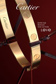 Cartier LOVE bracelet, 18K yellow gold. Add a touch of luxury to your look from the iconic jewelry collection that's both effortless and daring. With bracelets, rings and earrings in yellow gold, white gold and pink gold, with or without diamonds. Makes the perfect gift. Click to shop the full collection. Cartier LOVE.