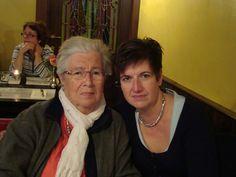 Moeder Nel en Diana