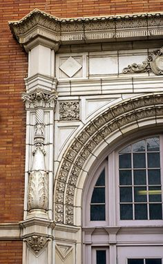 Classical Architecture  The Original Building Cleveland School of the Art Front Entrance