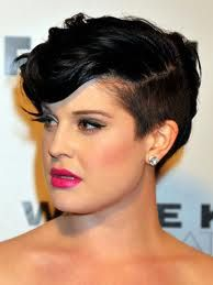I love Kelly Osbourne with an undercut! Makes her look much softer.
