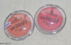 Essence soo blush 10 sweet as a peach & 20 everything is better in pink  