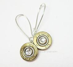 Shotgun shell earrings!
