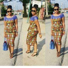 From jumpsuits to agbada to ankara dresses. An - BellaNaija Weddings. African Dress Patterns, African Dresses For Women, African Print Dresses, African Print Fashion, African Attire, African Fashion Dresses, African Wear, African Women, African Lace