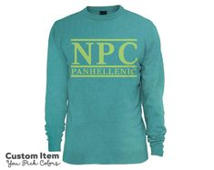 NPC National Panhellenic Conference Custom by BoutiqueGreek