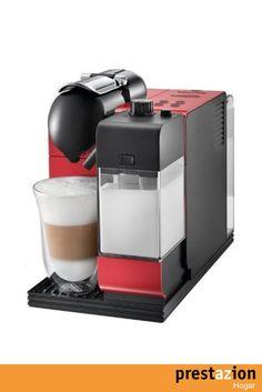 nespresso lattissima passion red en520r delonghi cafetera monodosis (19 bares preparacion automatica de capuccino apagado automatico programable) color rojo
