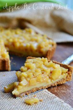 Apple Pie Custard Tart