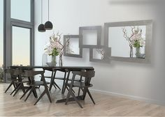 espejos decorativos de pared, espejos modernos para colgar, espejos modernos, espejos decorativos de diseño