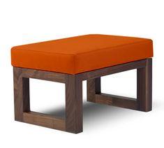 joya ottoman - modern nursery furniture by Monte Design