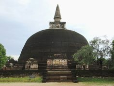 The 12th century Rankoth Vihara is the largest of its kind in Polonnaruwa and fourth largest in Sri Lanka.