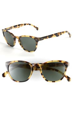 40b89165e3a Brooks Brothers 49mm Round Keyhole Sunglasses available at  Nordstrom  Casual Street Style