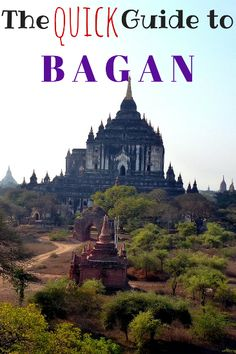 Guide to Bagan, Myanmar. Things to do in Bagan, where to eat, best hotels, how to get around, Bagan with kids and lots of other information to plan your trip!