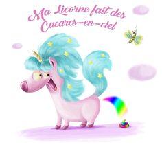 My Unicorn makes rainbow poo Rainbow, Illustrations, How To Make, Unicorn, Rain Bow, Illustration, Rainbows, Paintings