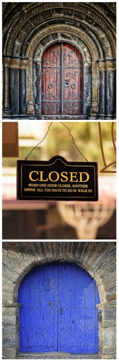 Motivation Mondays: CLOSED DOORS #motivation #opportunity #mondaymotivation