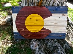 Wall Hanging by ColoradoJoes Colorado Flag by ColoradoJoes on Etsy, $110.00
