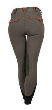 @ the Horse Store -Horseware NM Elise Breeches. These are a great looking, great fitting breech with a little punch. Price: $115.00 Colors: Navy w/gold color contrasting embellishments Khaki w/orange color contrasting embellishments
