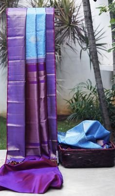 Lakshmi Handwoven Kanjivaram Silk Sari 000180 - Bridal / Wedding Saris - Parisera