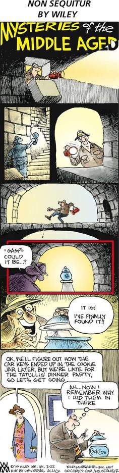 Non Sequitur Comic Strip on GoComics.com