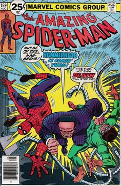 Amazing Spider-Man #159, August 1976 Issue - Marvel Comics - Grade F/VF