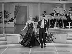 """Ginger Rogers and Fred Astaire dancing """"Smoke Gets in Your Eyes"""" in Roberta  (William A. Seiter, 1935)"""
